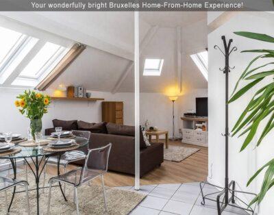 Bright Modern City Central Apartment (EU District)