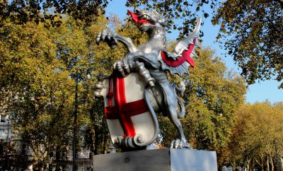 St. George's Day 2017 in London